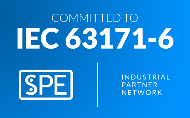 Committed  to IEC 63171-6